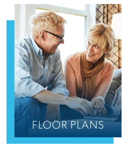 Floor plans at Harper House Apartment Homes