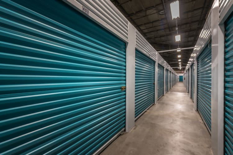Secure storage units at Riverfront Self Storage in New Orleans, Louisiana