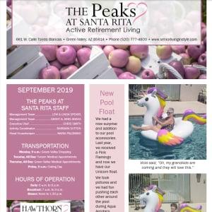SeptemberThe Peaks at Santa Rita Newsletter