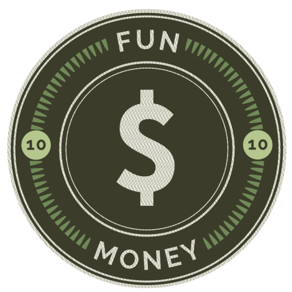 Fun money logo at Haverkamp Properties in Ames, Iowa