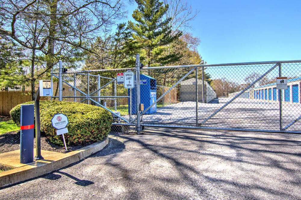 Security Fence at A Safe Keeping Self Storage in North Cape May, NJ