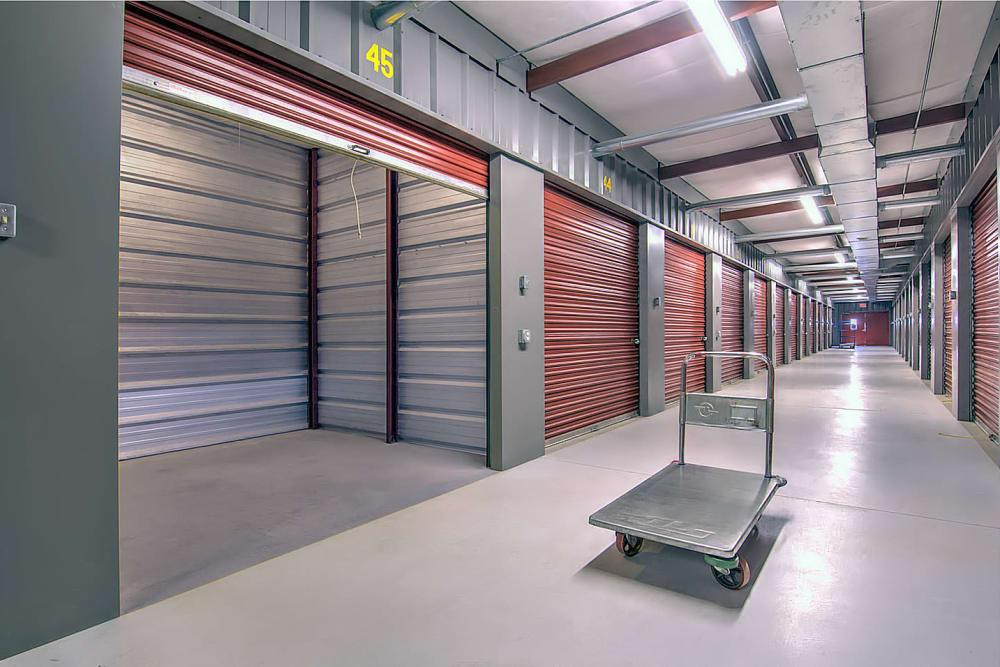 Indoor Storage Unit At Safe Storage In Nicholasville, Kentucky