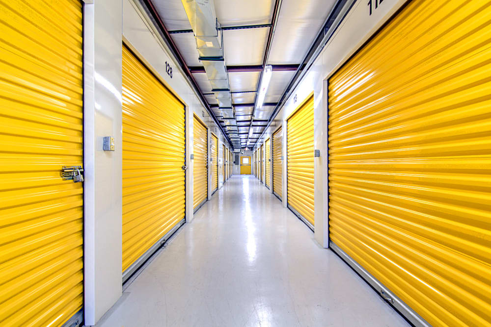 Indoor storage units at Safe Storage in Nicholasville, Kentucky