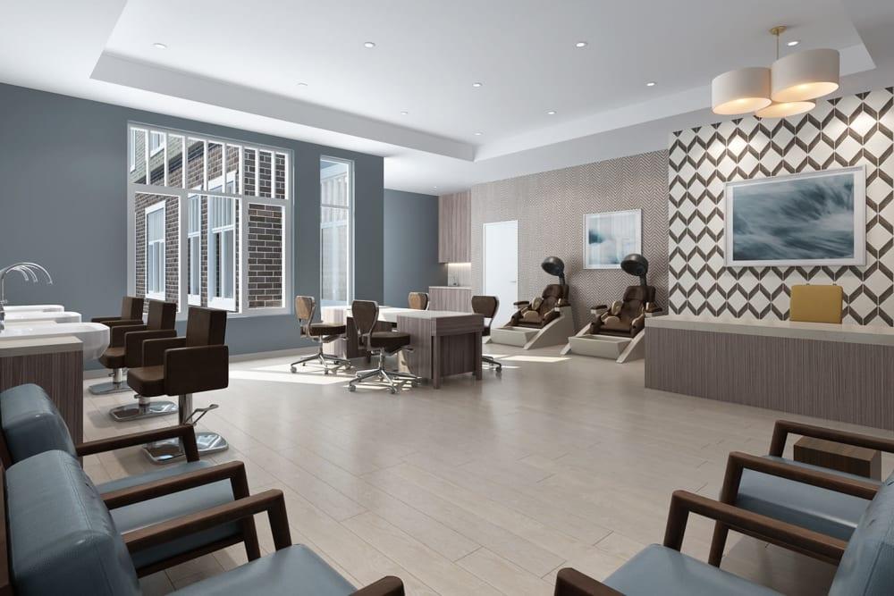 Onsite salon at Anthology of Novi - OPENING 2020 in Novi, Michigan