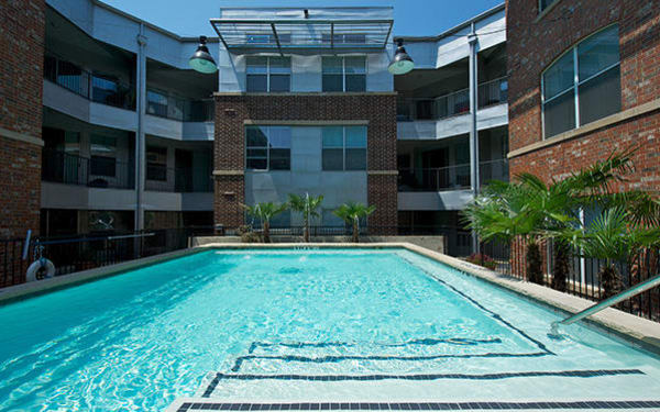 We boast a sparkling swimming pool and more here at 1001 Ross in Dallas.