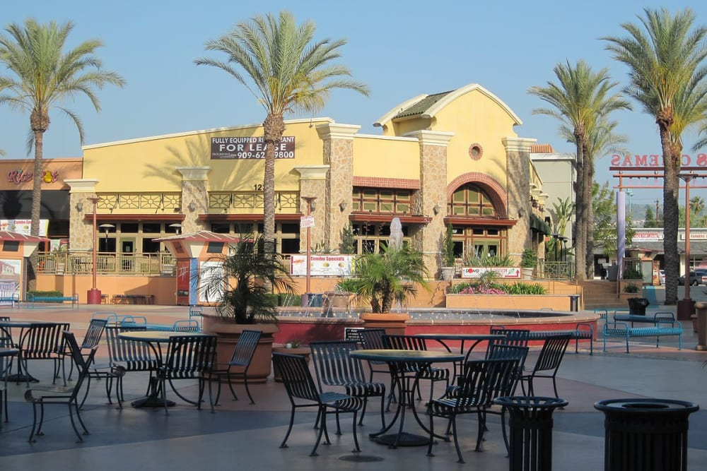 Shopping and food is near Merrill Gardens at West Covina is in West Covina, California.