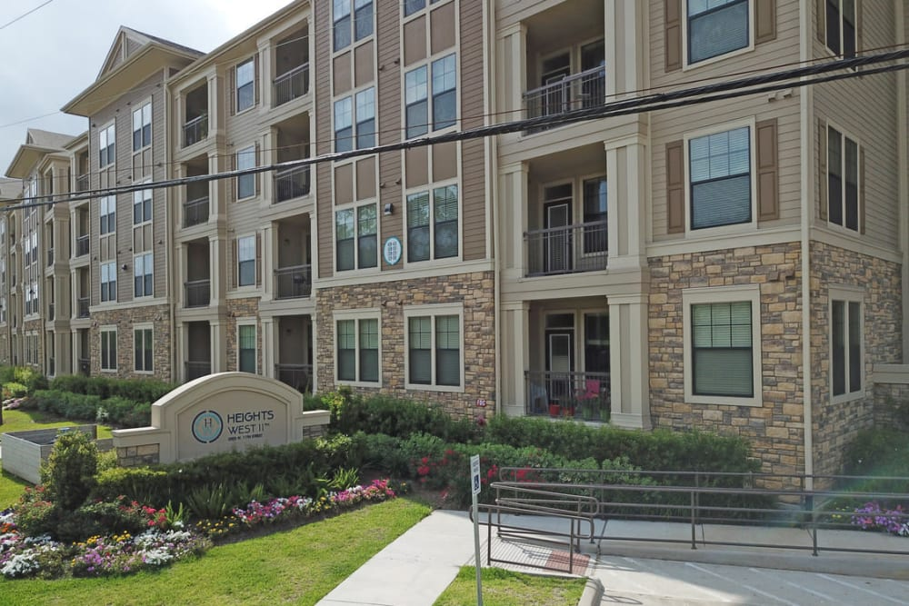 Exterior of Heights West 11th in Houston, Texas