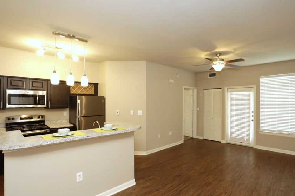 Living Room at Springs at Live Oak Apartments in Live Oak