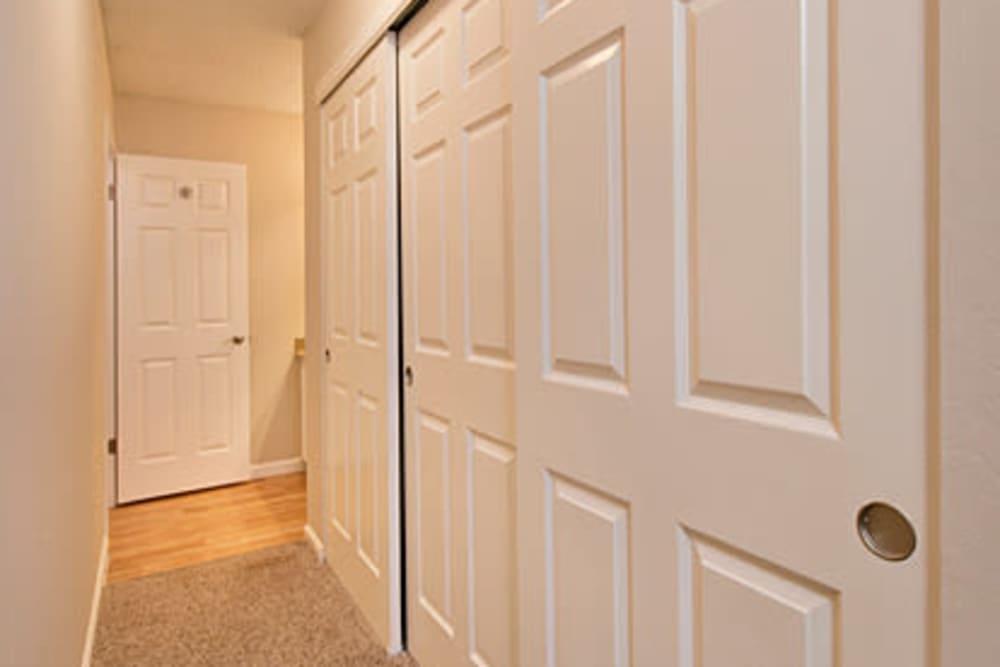 Hallway at Flora Condominium Rentals in Walnut Creek, California