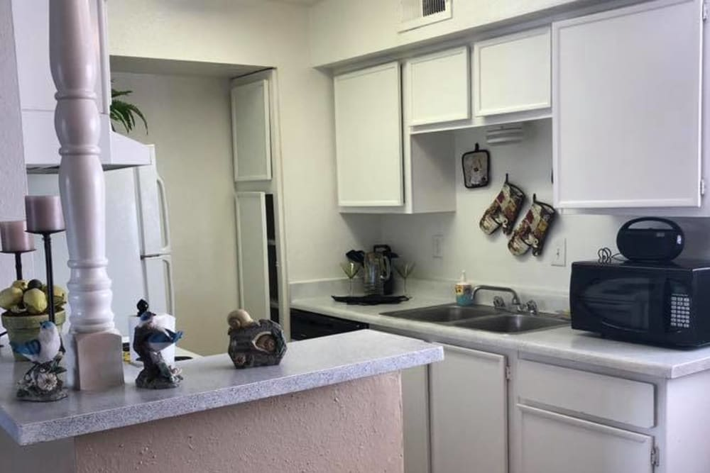 Model kitchen at Cabo San Lucas in Houston, Texas