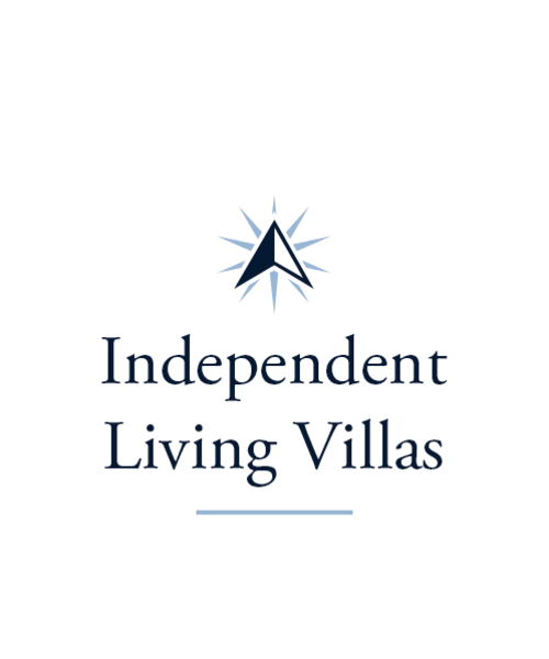 Independent living villas at Cobblestone Crossings Health Campus in Terre Haute, Indiana