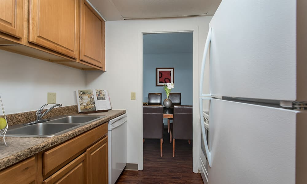 Kitchen at Park Guilderland Apartments in Guilderland Center, New York