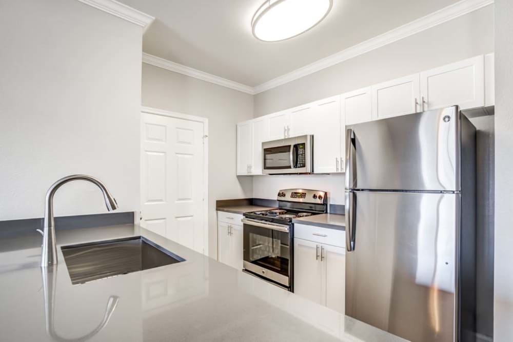 Stainless Steel Appliances at The Tides Apartments