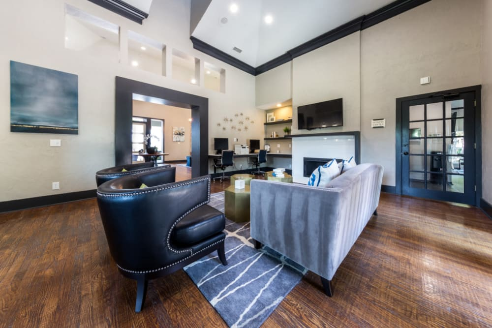 Clubhouse at Marquis at Legacy in Plano, Texas