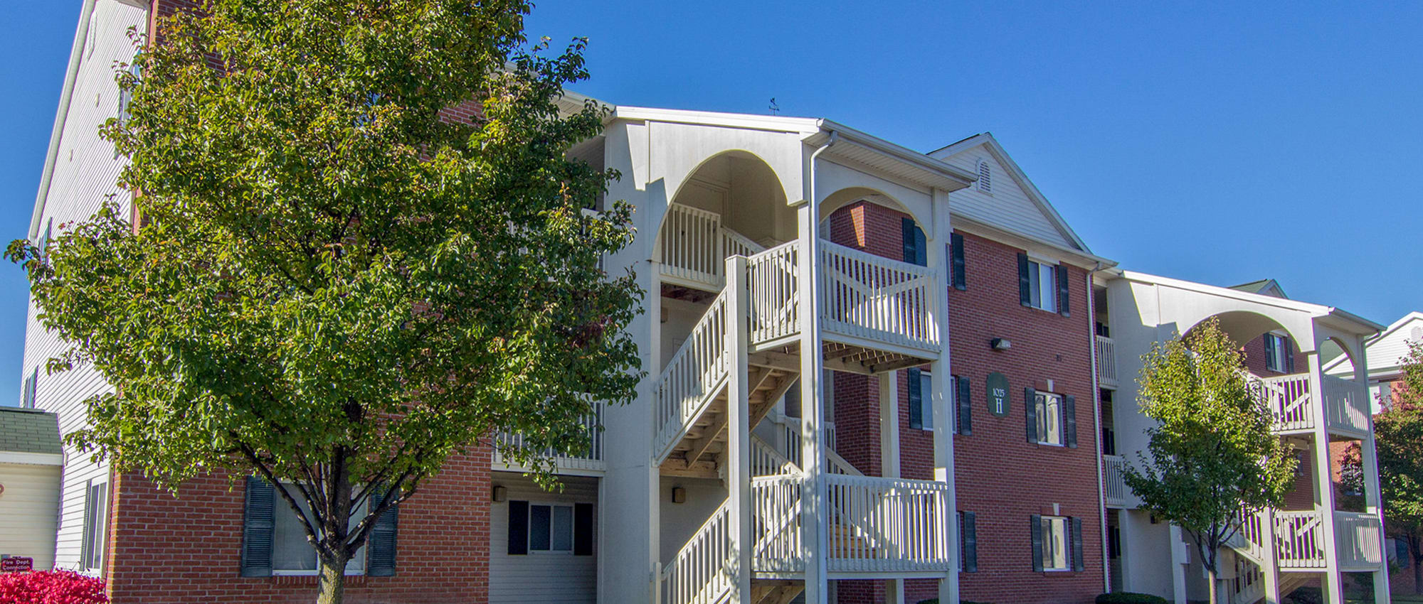 Steeplechase Apartments & Townhomes in Toledo, Ohio