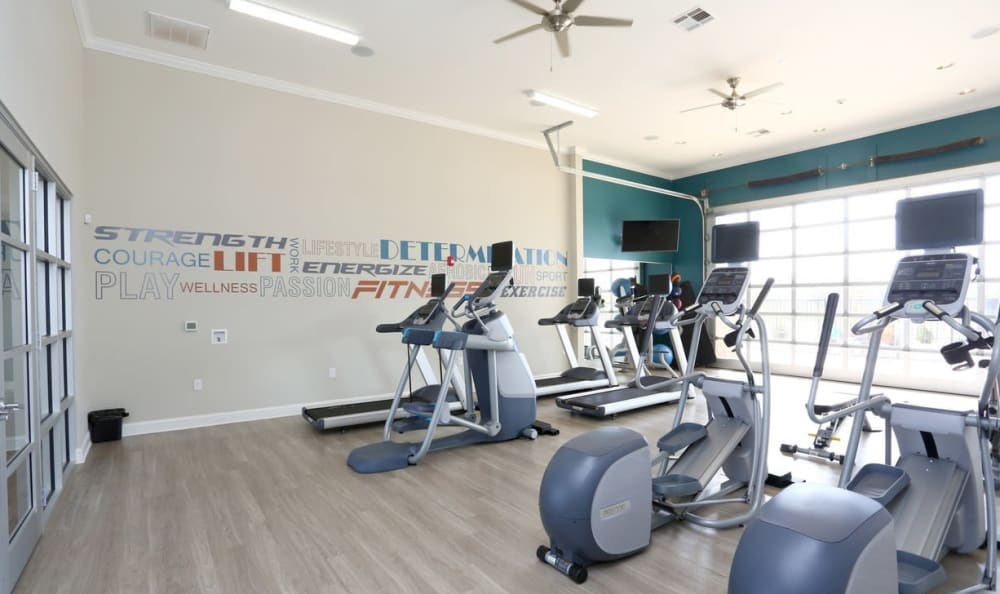 24-hour fitness center at Springs at May Lakes in Oklahoma City, OK