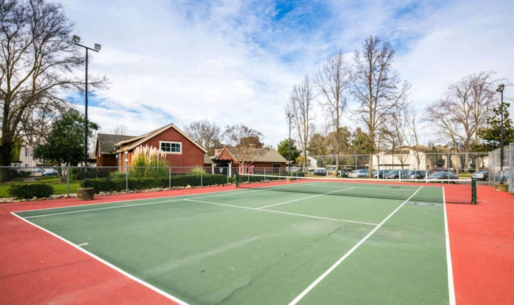Sport Court at The Woodlands Apartments