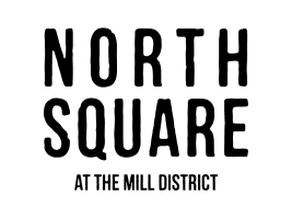 North Square Apartments at The Mill District logo