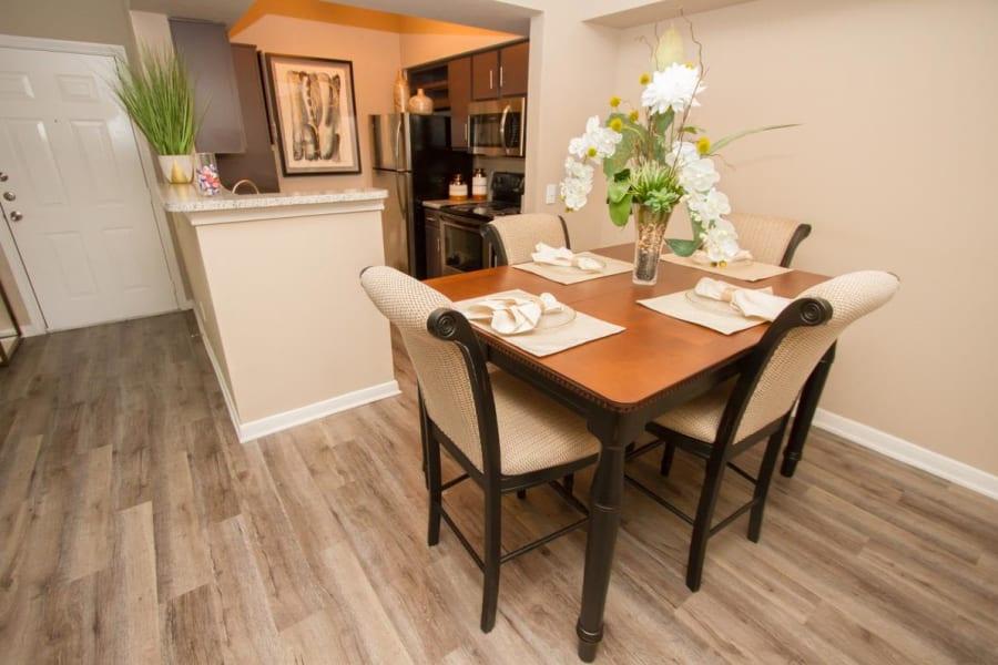 Dining room at Veranda in Texas City, Texas