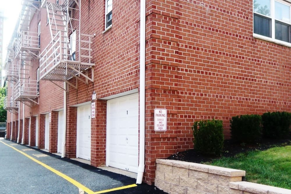 Garages at Prospect Ridge Apartments in Hackensack, New Jersey