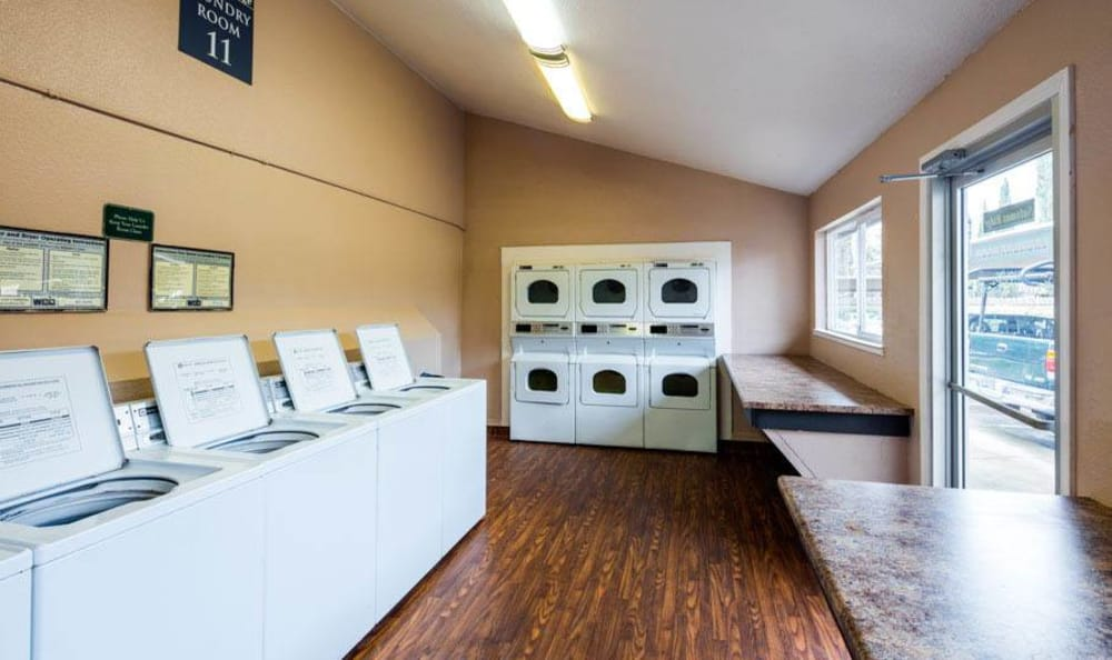 Laundry Facility at The Woodlands Apartments