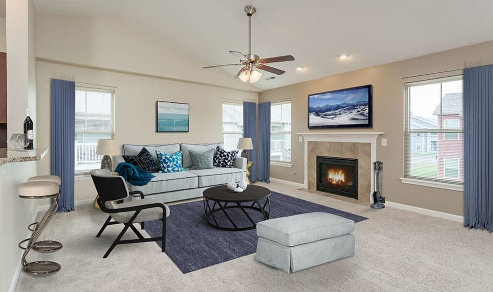 Luxury floor plans at Saratoga Crossing home