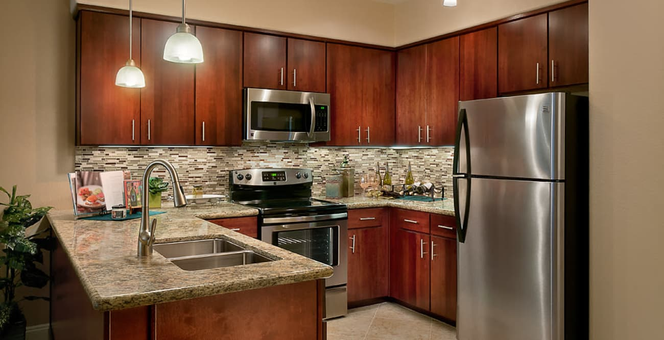 Kitchen at McDowell Village in Scottsdale, Arizona