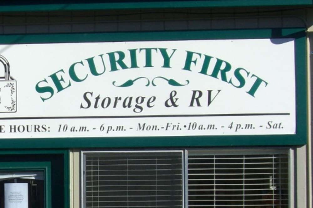 View more features at Security First Storage in Salem, Oregon