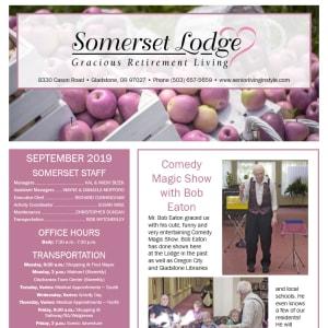 September Somerset Lodge Newsletter