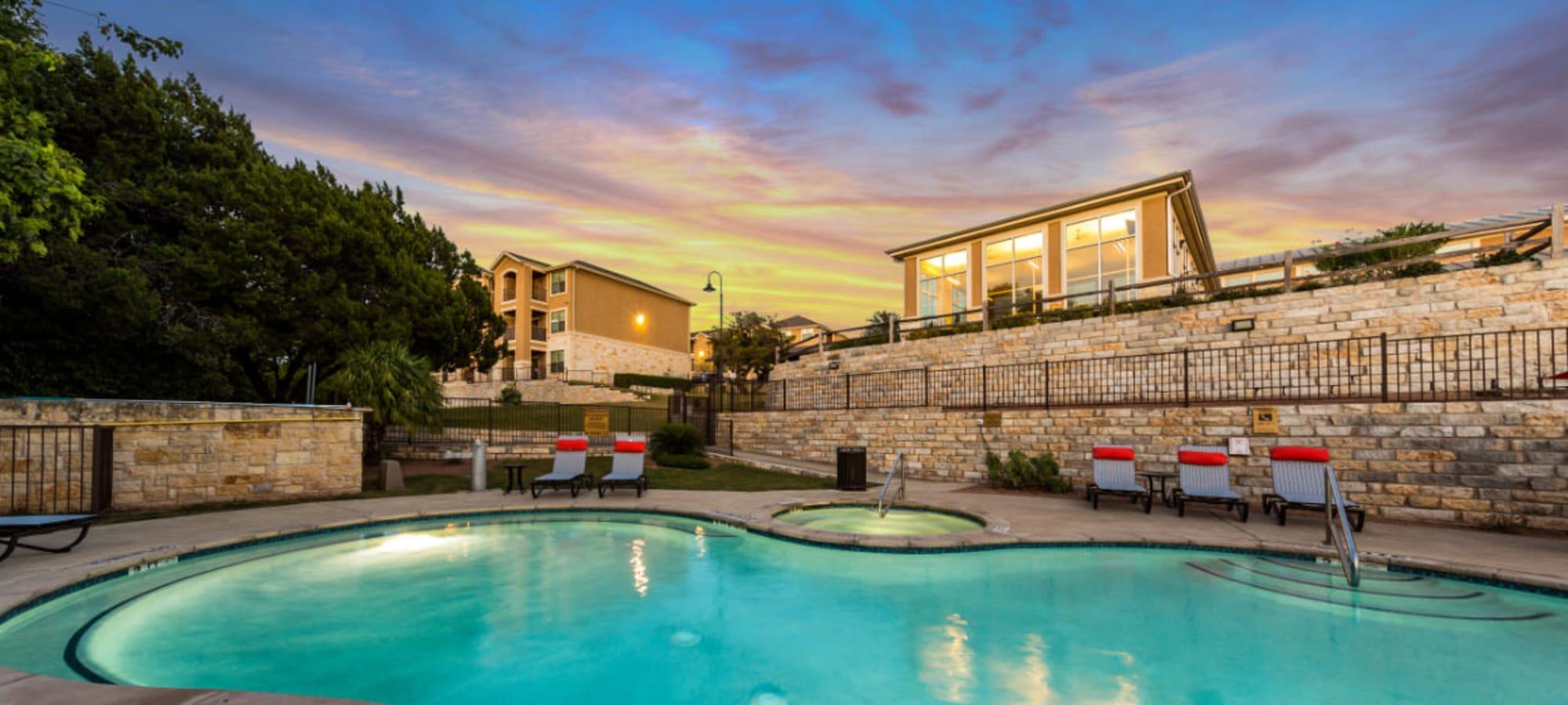 Apartments at Marquis at Canyon Ridge in Austin, Texas