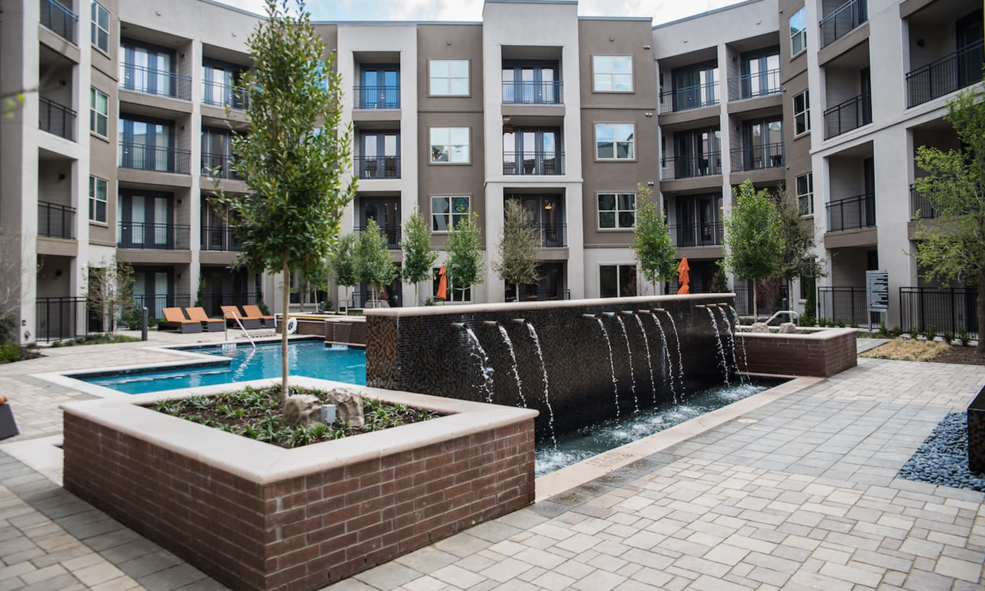 Fountains at Berkshire Amber in Dallas, Texas