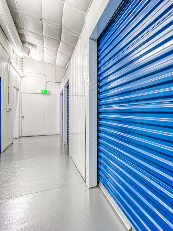 Climate-controlled self storage unit at Devon Self Storage in Cathedral City, California