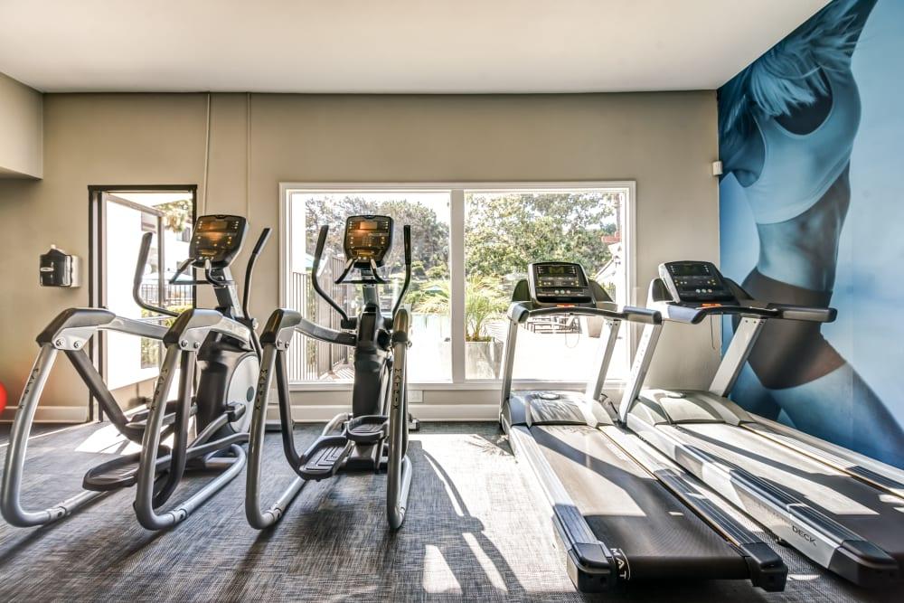 Avana La Jolla Apartments in San Diego, California offers a fitness center