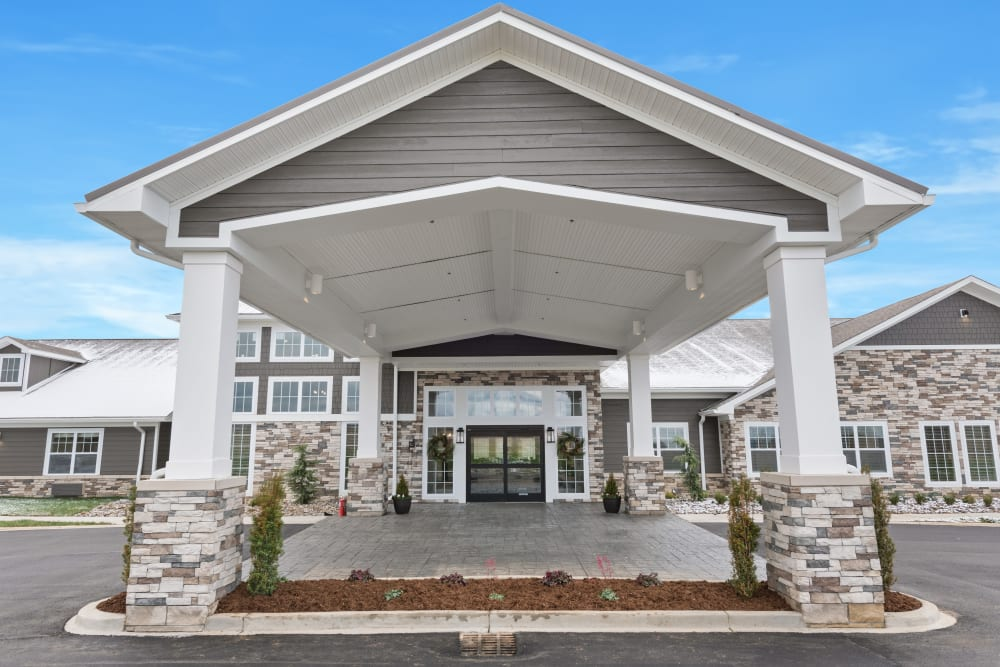 Front entrance at Boonesboro Trail Senior Living