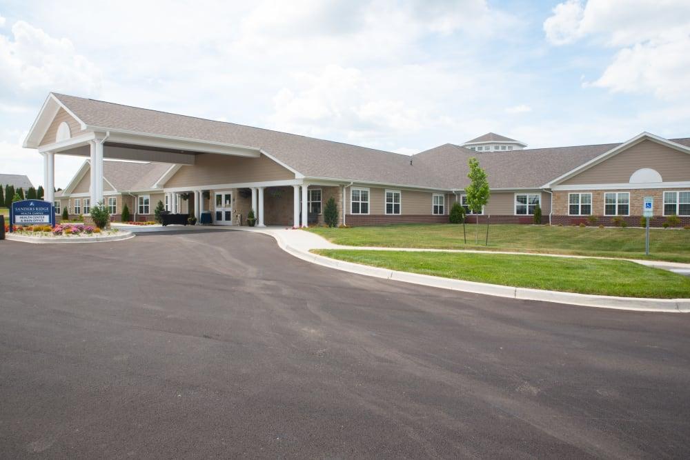 Front Entrance at Sanders Ridge Health Campus