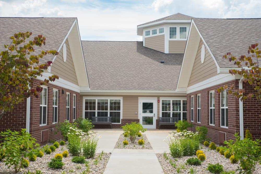 Exterior View at Sanders Ridge Health Campus