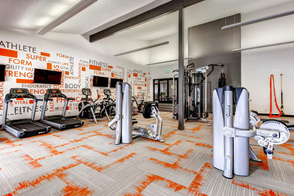 You'll love the community fitness center at 3300 Tamarac!