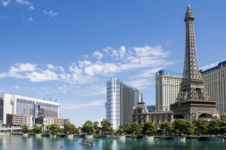 Downtown near Rancho Destino Apartments in Las Vegas, Nevada