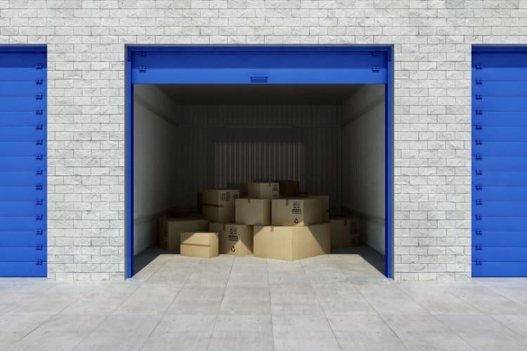 Clean exterior storage unit at Storage Star in Dallas, Texas