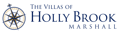 Villas of Holly Brook Marshall logo