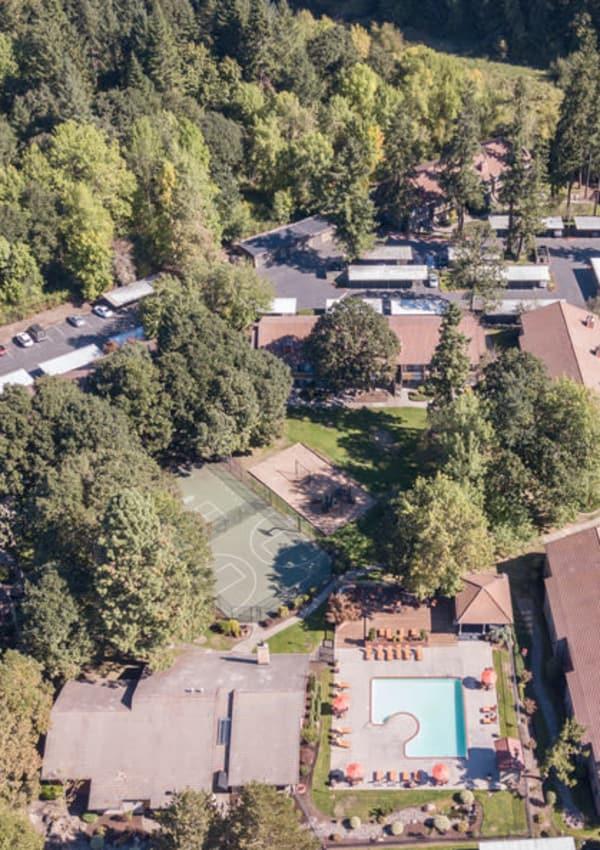 Enjoy the neighborhood at Arbor Creek Apartments in Beaverton