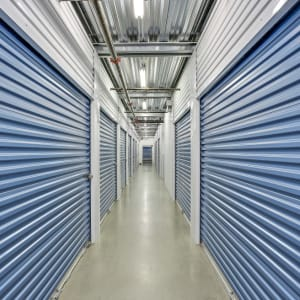 Interior storage units at A-1 Self Storage in Lake Forest, California