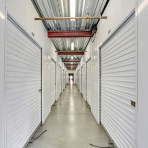 Indoor storage at A-1 Self Storage in Paramount, California