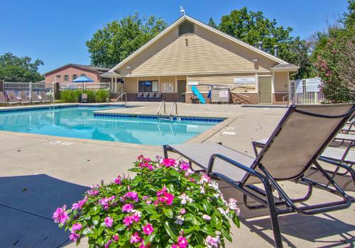 Pool at The Summit at Ridgewood in Fort Wayne, Indiana