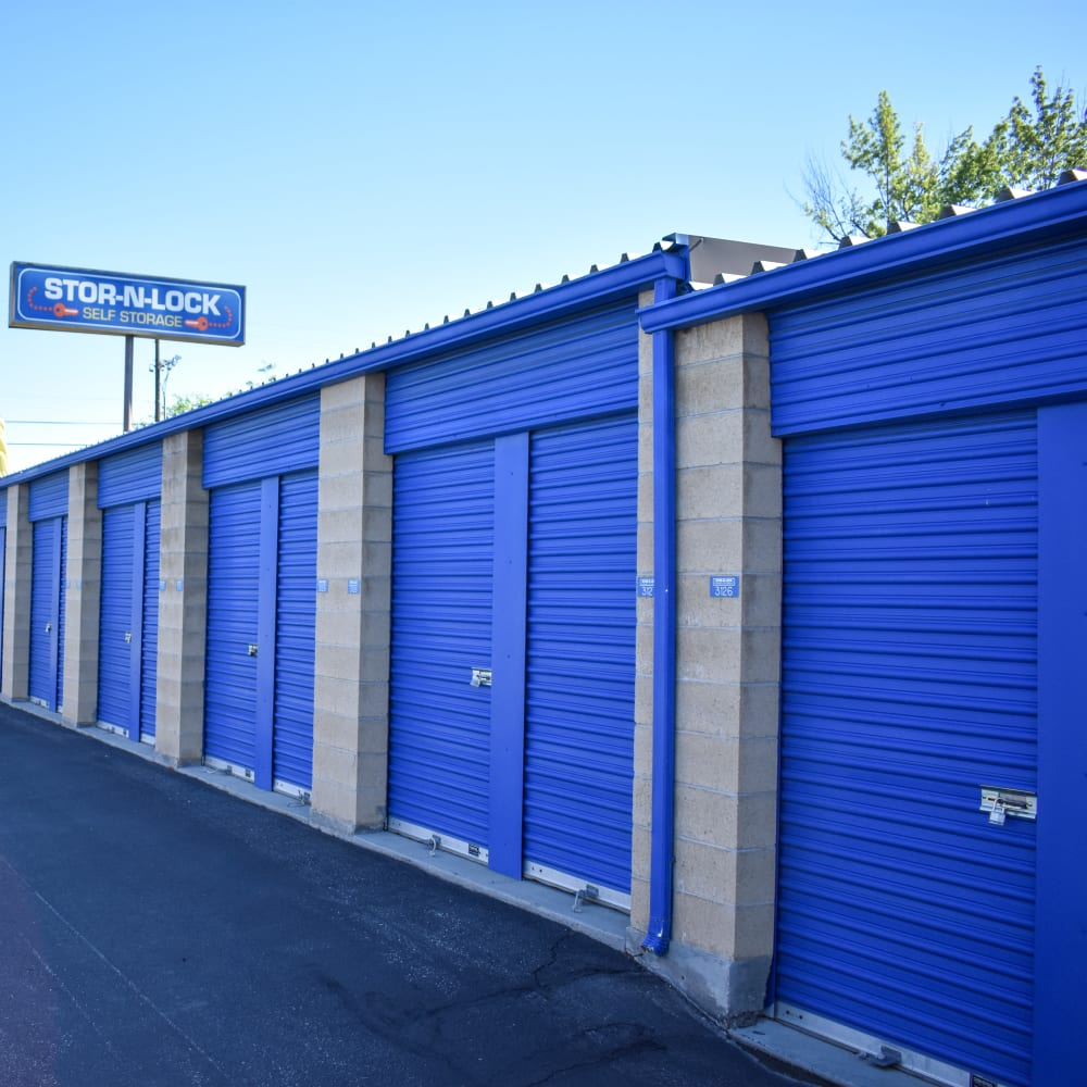 View the storage units at STOR-N-LOCK Self Storage in Boise, Idaho