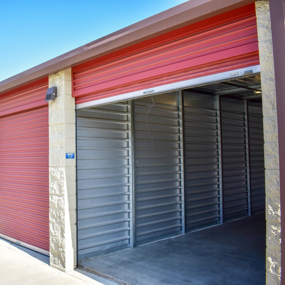 View the conveniennt drive-up storage options offered at STOR-N-LOCK Self Storage in Rancho Cucamonga, California