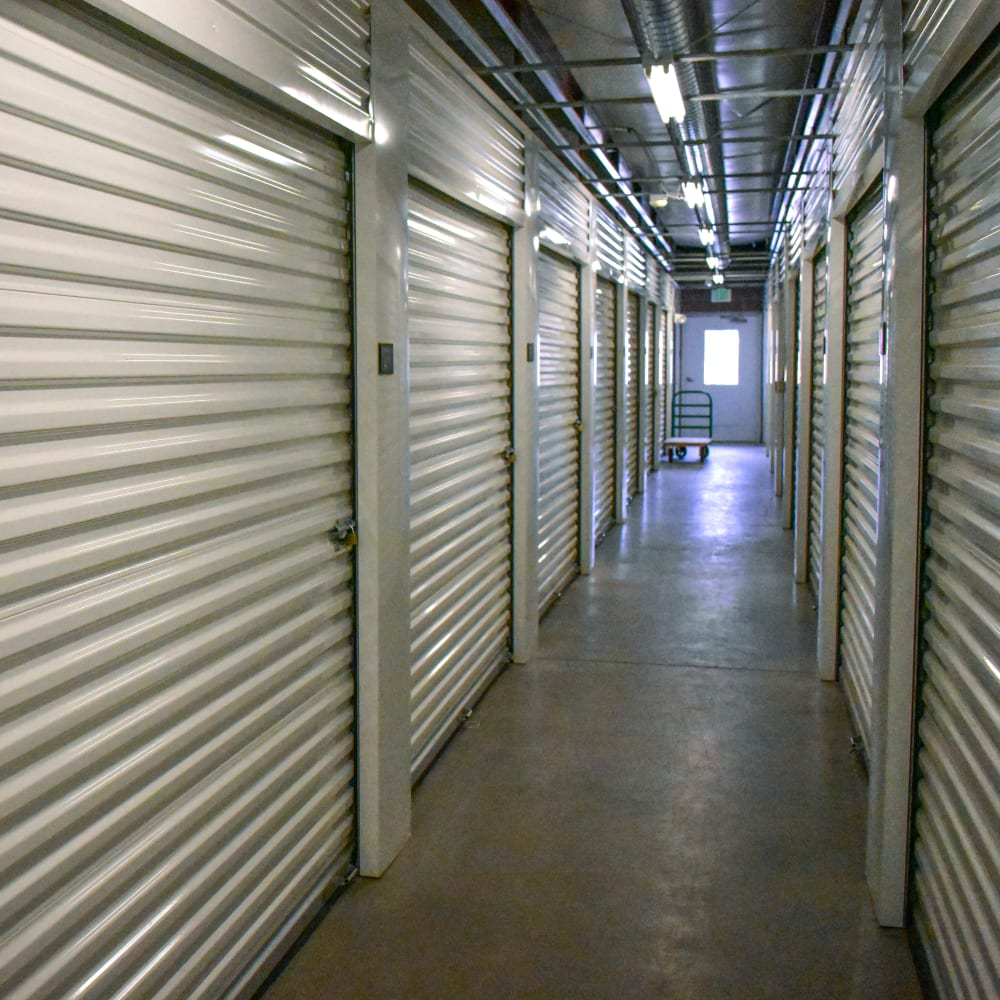 View the climate-controlled storage units at STOR-N-LOCK Self Storage in Gypsum, Colorado