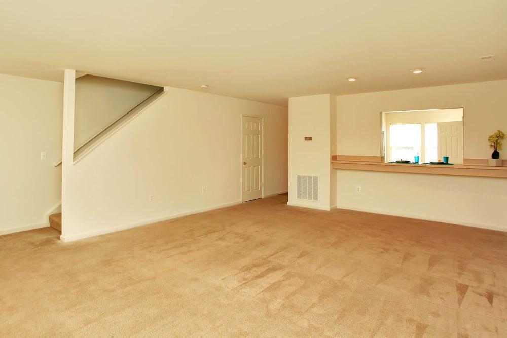 Living room at Salem Fields in Fredericksburg