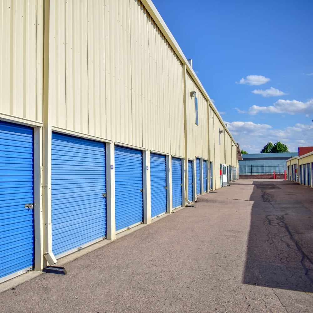 View the convenient drive-up storage options offered at STOR-N-LOCK Self Storage in Aurora, Colorado