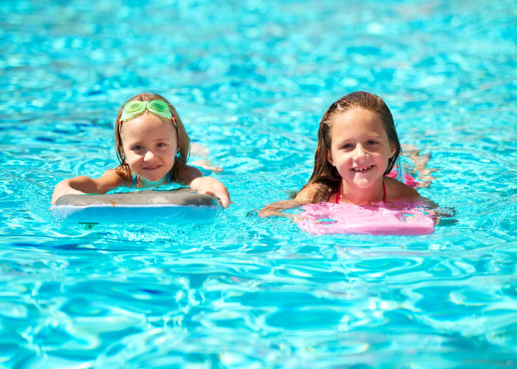 Enjoy a refreshing swimming pool at City Center Apartments